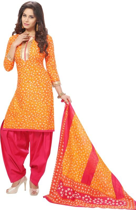 Reya Cotton Printed Salwar Suit Dupatta Material(Un-stitched)