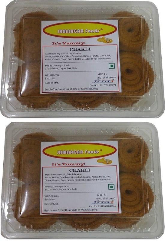 Jamnagar Foods CHAKLI 1000GM COMBO Combo(2)