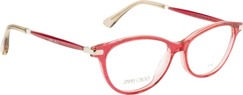 Jimmy Choo Full Rim Cat-eyed Frame(52 mm)
