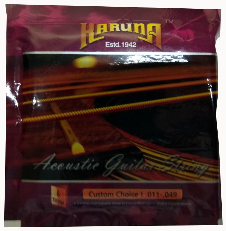 karuna Acoustic K006 Guitar String(6 Strings)