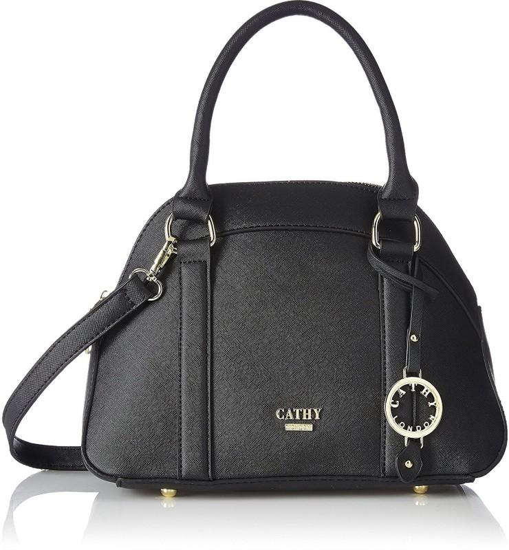 Cathy London Hand-held Bag(Black)