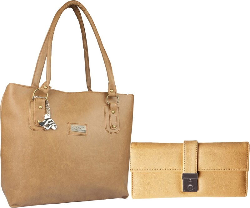 Lady bar Women Tan, Beige Hand-held Bag