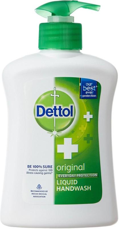 Dettol Original Liquid Hand Wash(200 ml, Pump Dispenser)
