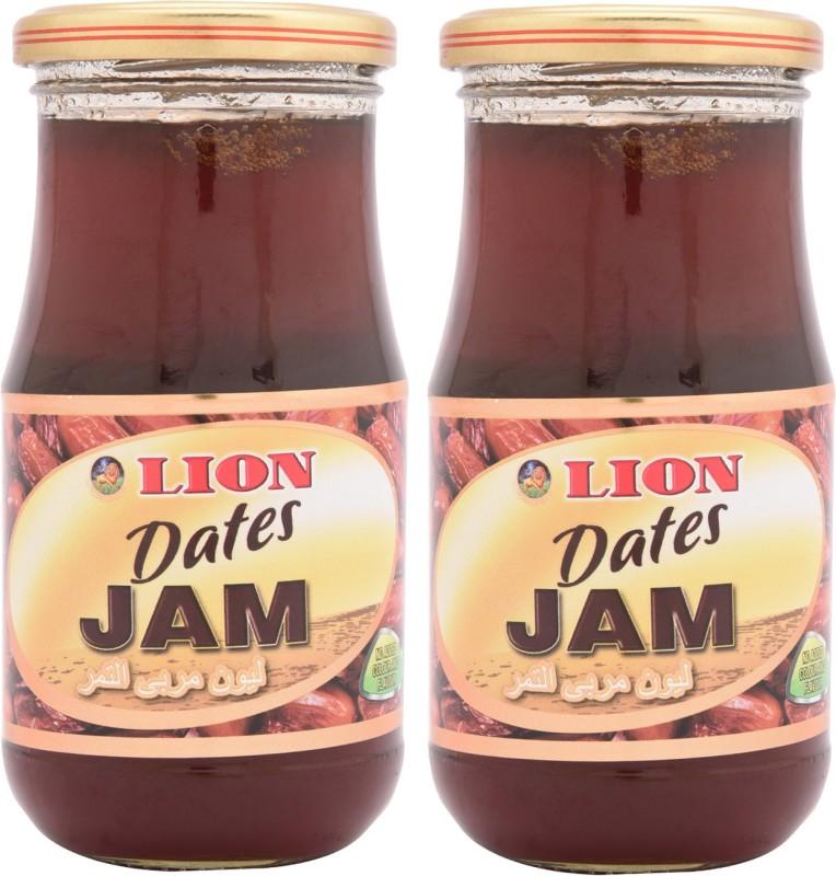 Lion Dates Jam 500 g(Pack of 2)