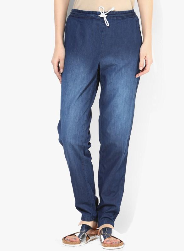 Only Regular Women Dark Blue Jeans