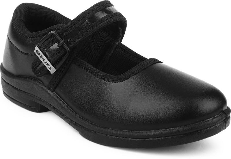 Fuel Girls Strap Formal Boots(Black)