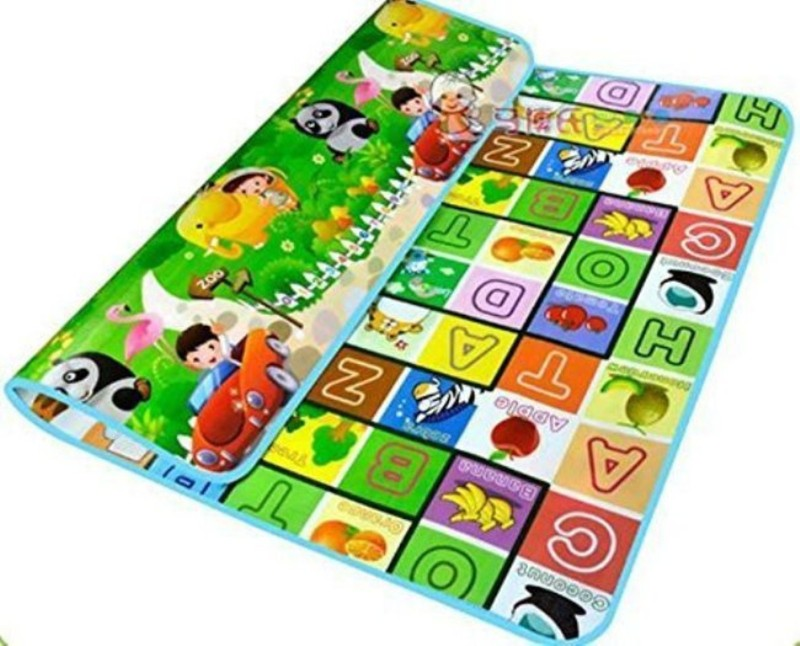 Skywalk PVC (Polyvinyl Chloride) Baby Play Mat(Multicolor, Medium)