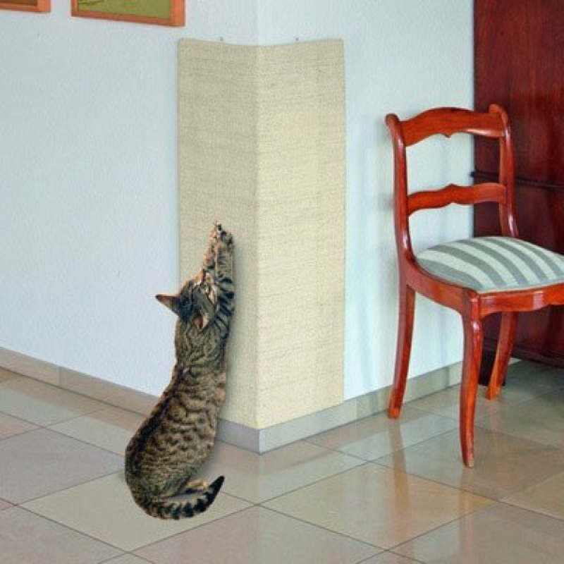 Karlie Sisal Scratching Board 28*80cm (Large) Wooden Training Aid For Cat