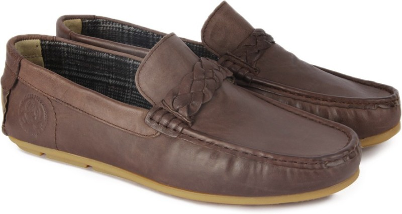 U.S. Polo Assn Luis Loafers For Men(Brown)