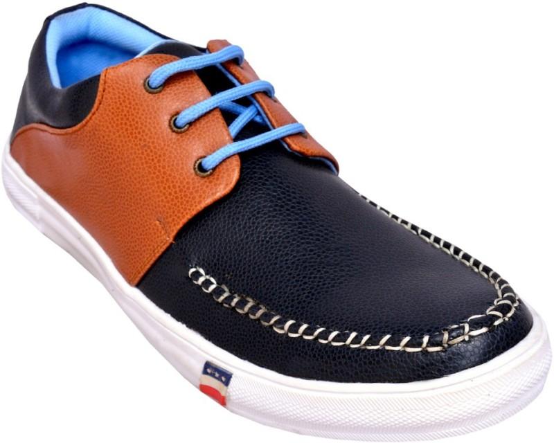 Rusty Herschel Navy Casual shoes Boat Shoes For Men(Navy, Tan)