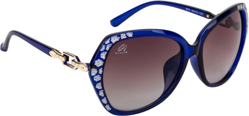 Aislin Over-sized Sunglasses(Grey)