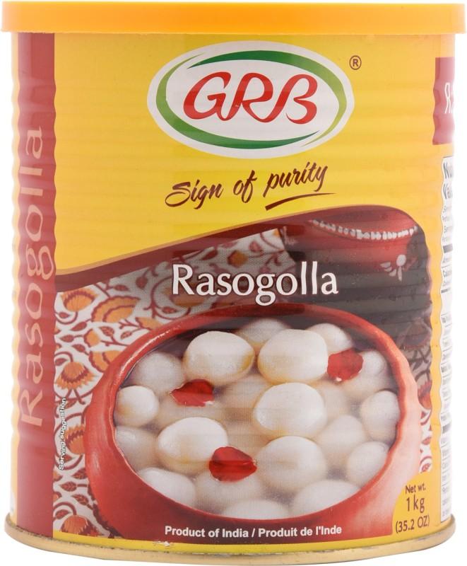 GRB Rasogolla(1 kg, Tin)