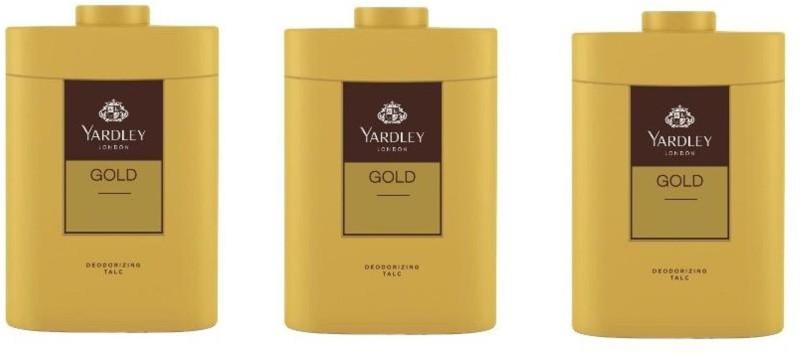Yardley London Gold Talc (Pack of 3)(250 g)