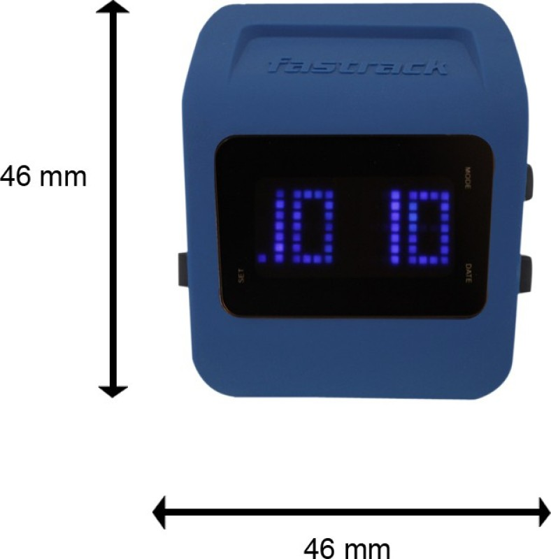 Fastrack 38011PP02J Digital Watch - For Men