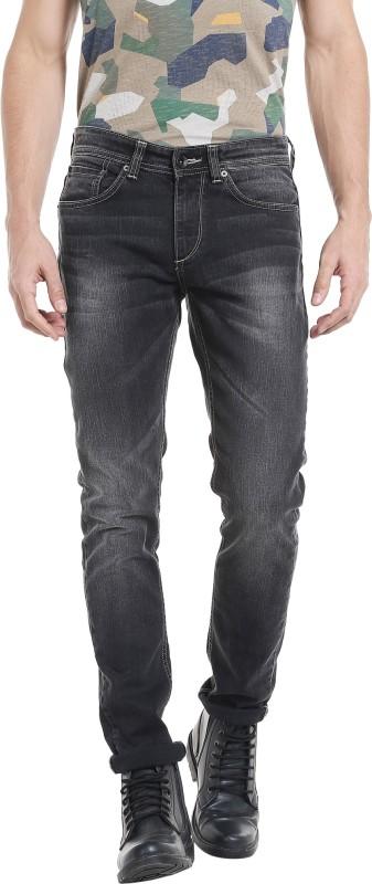 Spykar Skinny Men Black Jeans