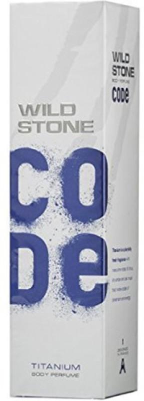 Wild Stone Code Titanium Perfume - 120 ml(For Men)