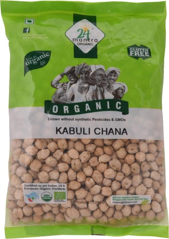 24 Mantra Organic Kabuli Chana(500 g)