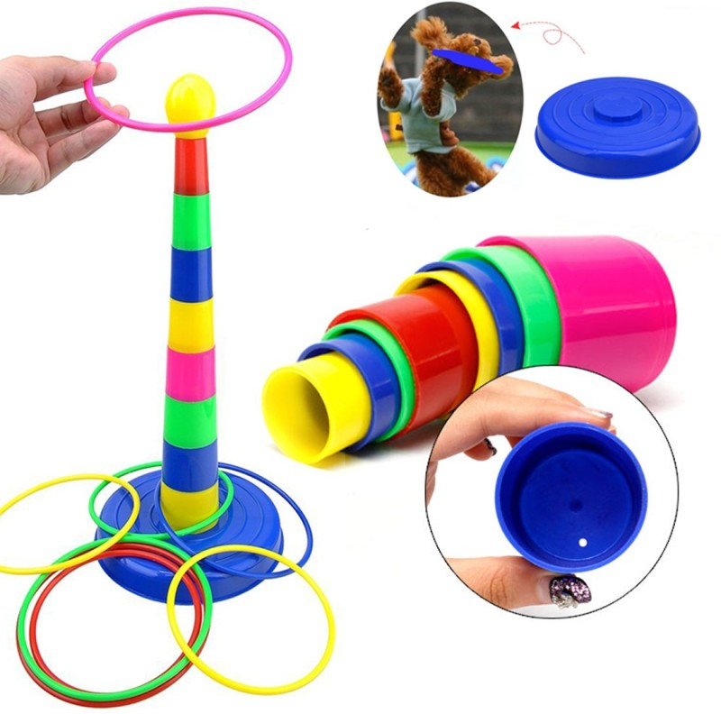 BonZeal Quoits Baby Game Ring Toss(Multicolor)
