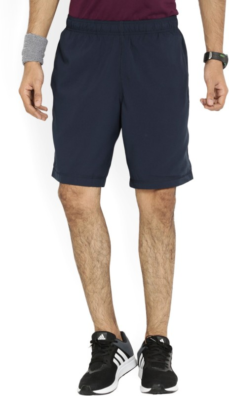 REEBOK Solid Mens Blue Gym Shorts