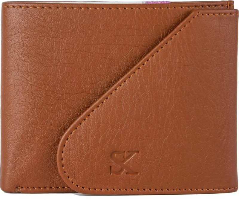 Styler King Boys Tan Artificial Leather Wallet(6 Card Slots)