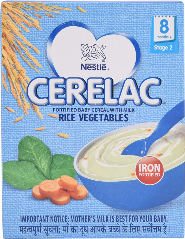 Nestle Cerelac Rice Vegetables Cereal for Babies & Infants(300 g)