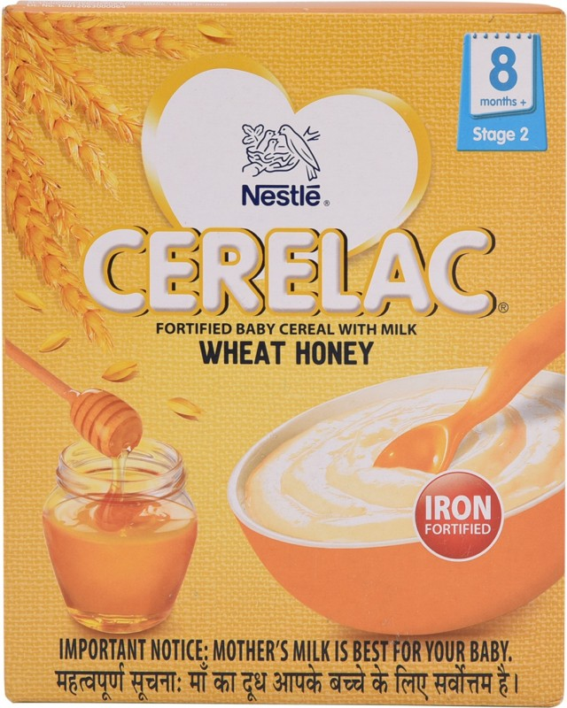 Nestle Cerelac-Wheat Honey Cereal for Babies & Infants(300 g)