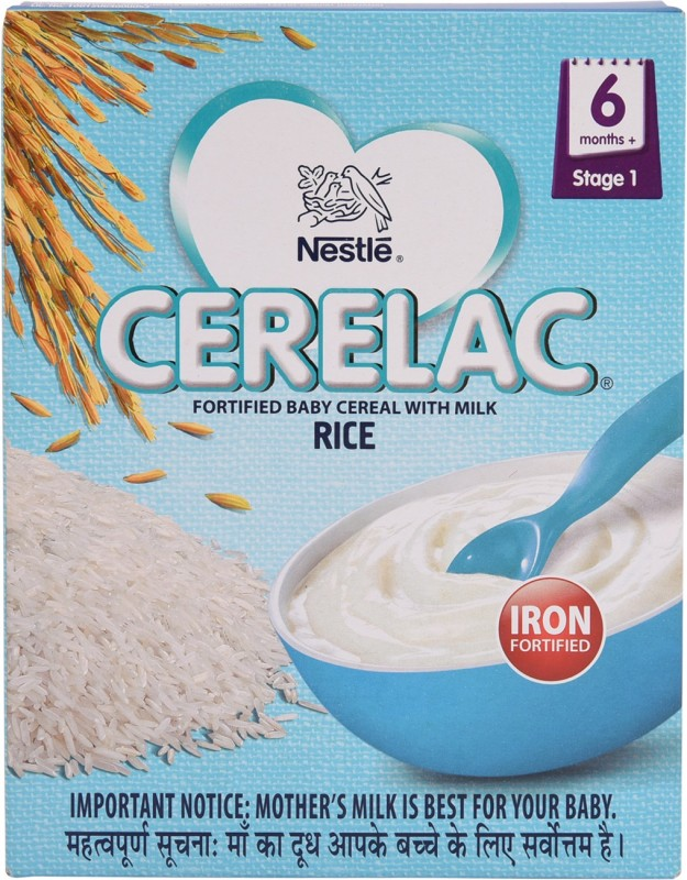 Nestle Cerelac Rice Cereal for Babies & Infants(300 g)