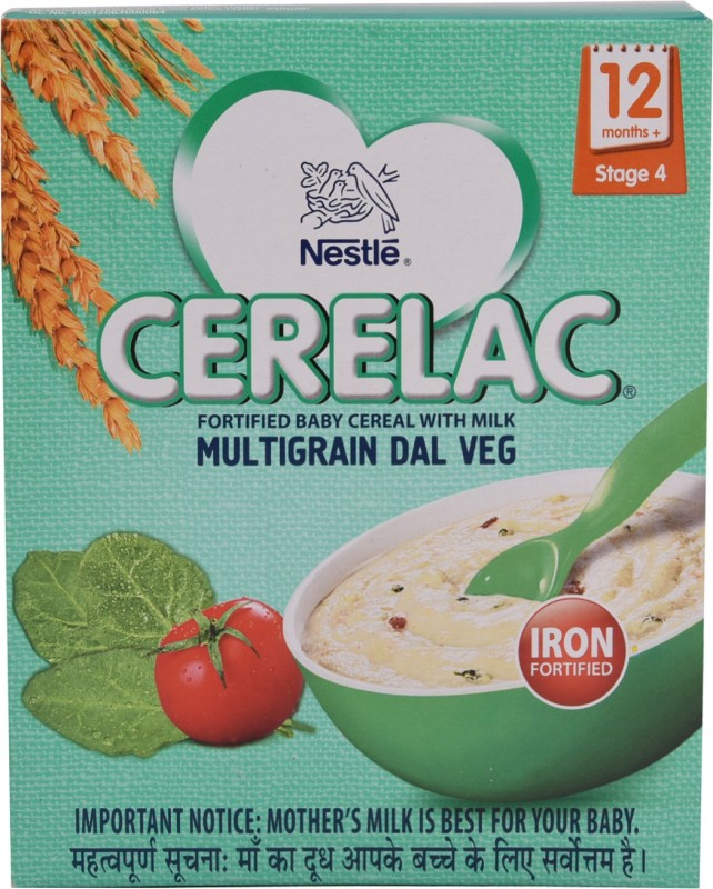Nestle Multigrain Dal Veg Cereal for Babies & Infants(300 g)
