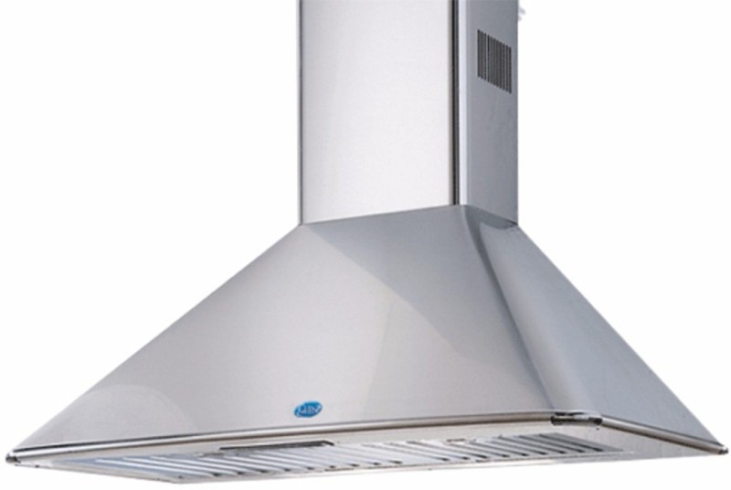 GLEN GL 6057 SS 90 Wall Mounted Chimney(Silver 1250)