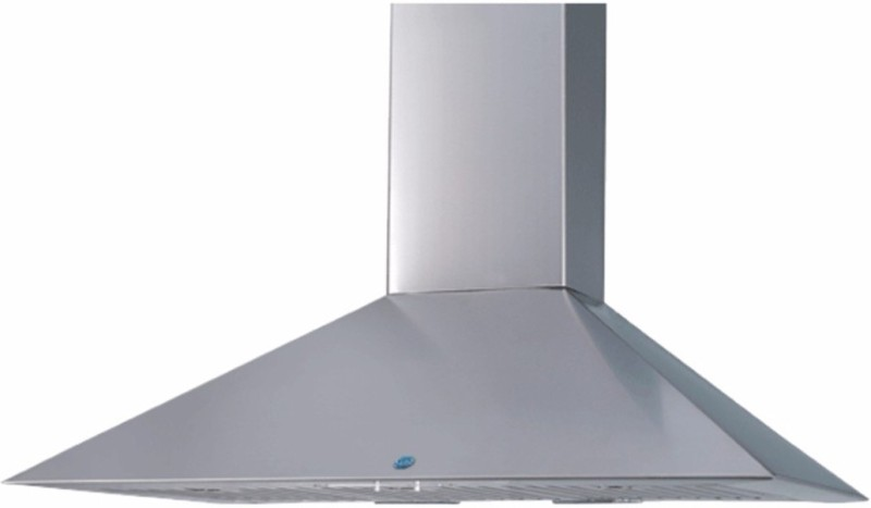 GLEN GL 6055 SS 60 cm Wall Mounted Chimney(Silver 1000)