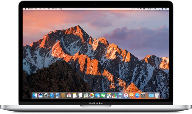 Apple MacBook Pro Core i5 7th Gen - (8 GB/256 GB SSD/Mac OS Sierra) MPXX2HN/A(13.3 inch, SIlver, 1.37 kg) image