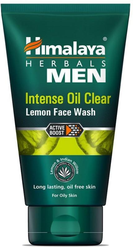 Himalaya Men Intense Oil Clear Lemon Face Wash(100 ml)