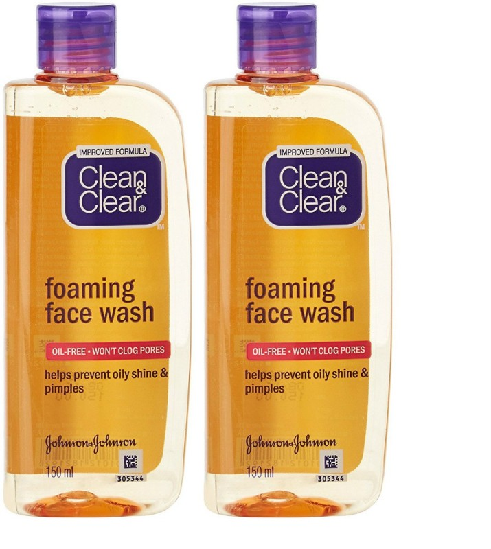 Clean & Clear Foaming Face Wash(300 ml)