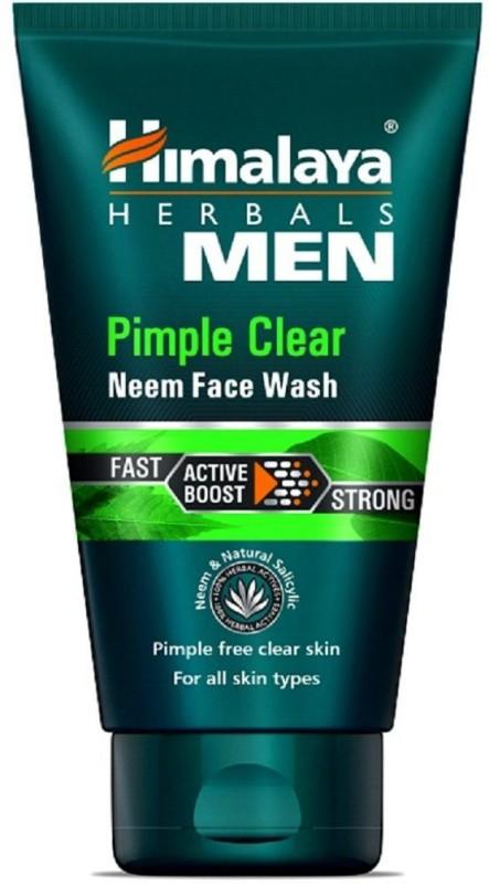 Himalaya Men Pimple Clear Neem Face Wash(100 ml)