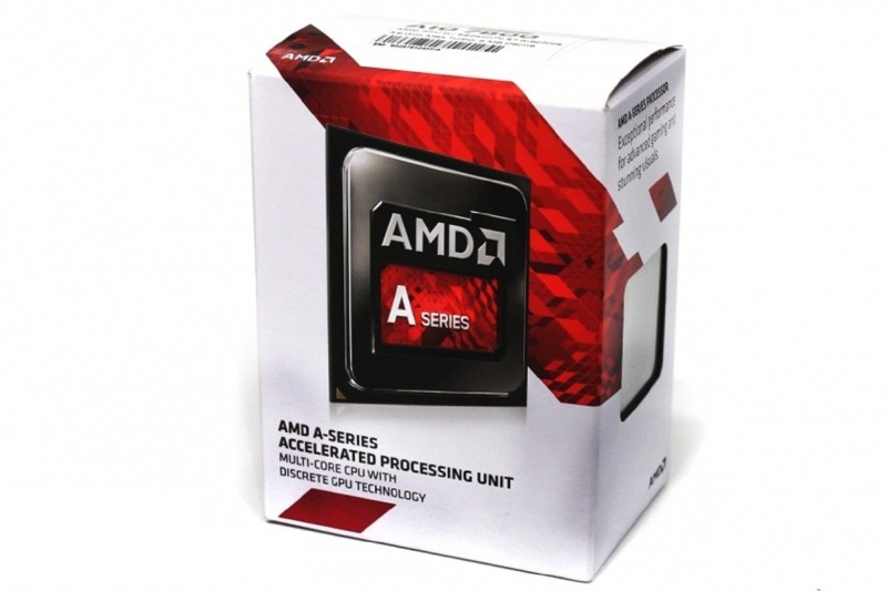 AMD 3.50 GHz FM2 A10-7800 Processor(Black-Red)