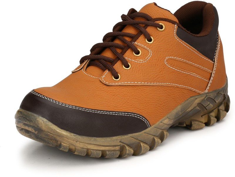 Eego Italy Steel Toe Safety shoes Boots For Men(Tan)