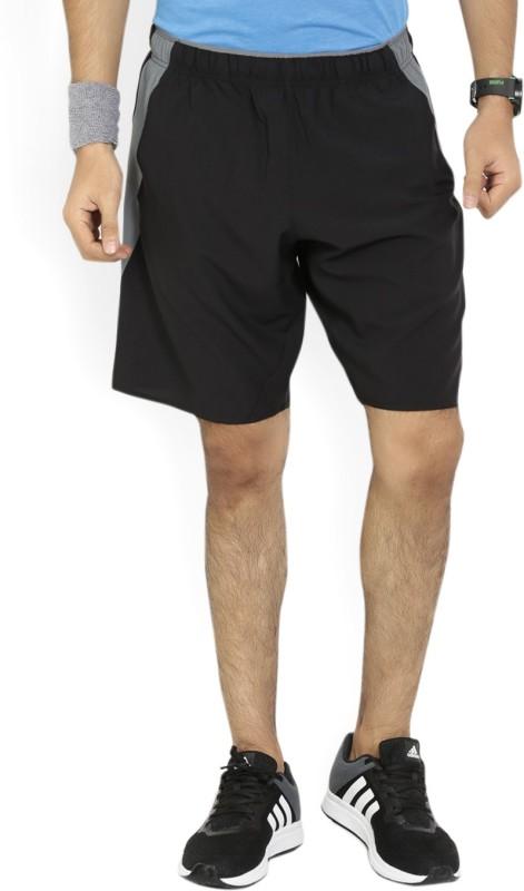 REEBOK Solid Mens Black Gym Shorts