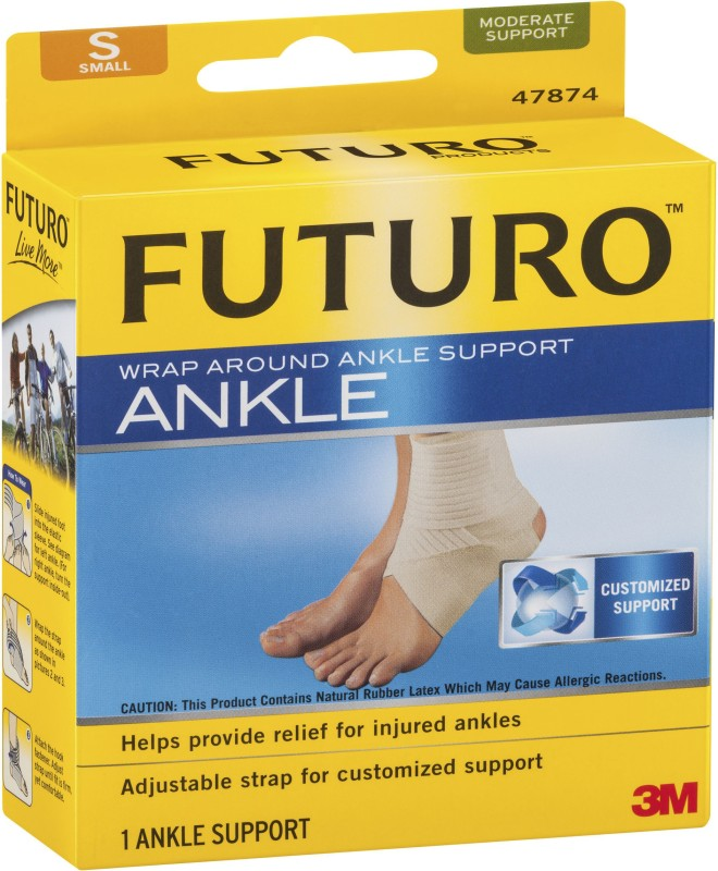 Futuro Wrap Around Ankle Support Ankle Support (S, Brown)