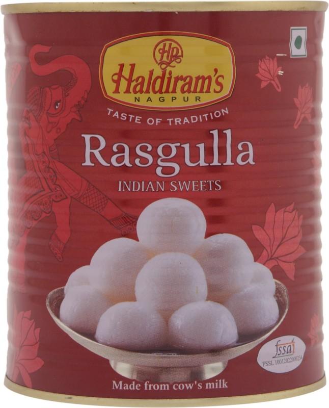 Haldirams Rasgulla(1 kg, Tin)
