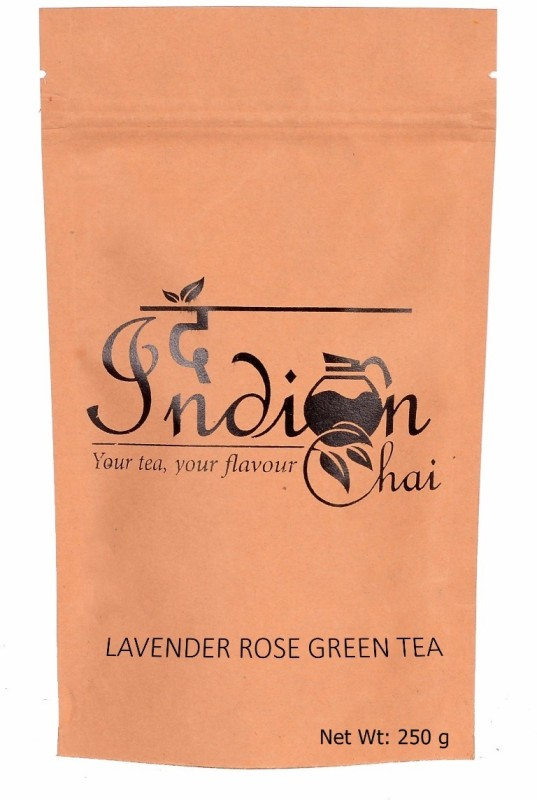 The Indian Chai Lavender Rose Green Tea Rose Green Tea(250 g, Vacuum Pack)