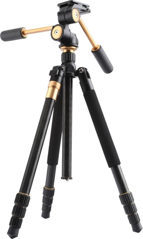 Power Smart PS999 Professional Aluminium Standard With 80B Ballhead Quick Release Plate Tripod Ball Head(Black, Supports Up to 3000 g)