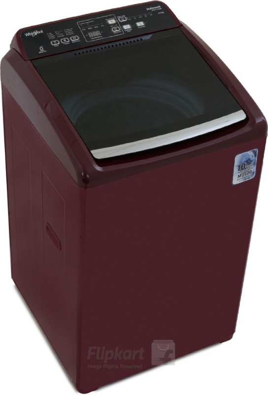 Whirlpool 6.5 kg Fully Automatic Top Load Washing Machine Maroon(Stainwash...