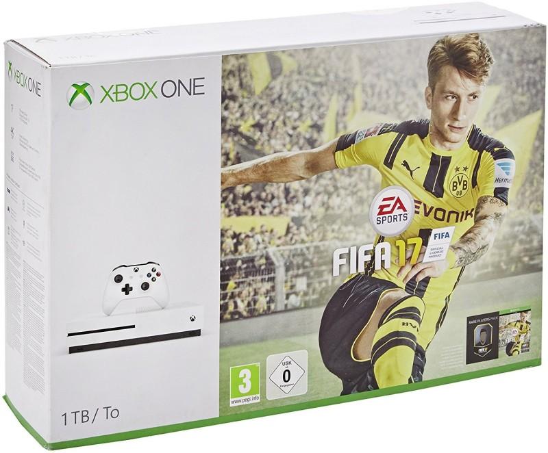 Microsoft Xbox One S 1 TB Console 1000 GB with FIFA 17(White)