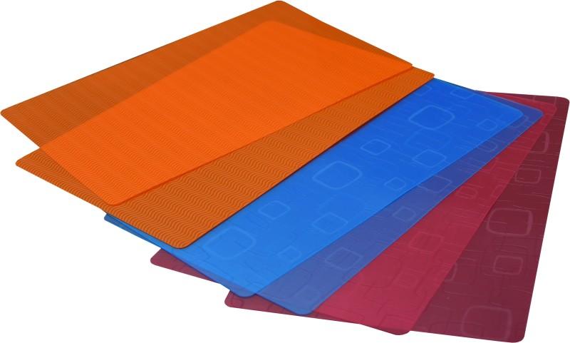 YELLOW WEAVES Plastic Anti-slip/Anti-grease Mat Yellow Weaves™ Refrigerator Drawer Mats...