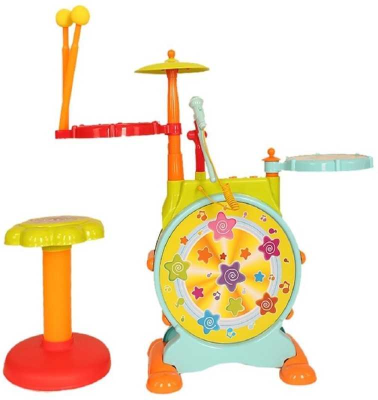 Taaza Garam BEST SELLER kids High quality Imported Melodious Jazz Drum with...