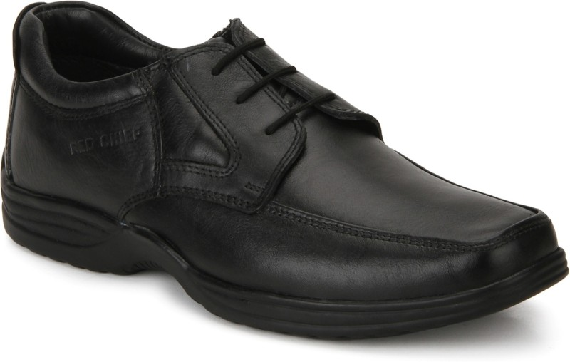 Red Chief RC2080 Men Formal Lace Up(Black)