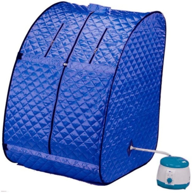 Frazzer Folding Portable Steam Sauna Bath(Blue)