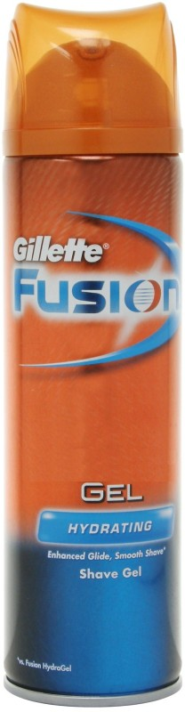 gillette Imported Fusion Advanced Glide Technology Hydrating Hydra Shaving Gel(199 ml)