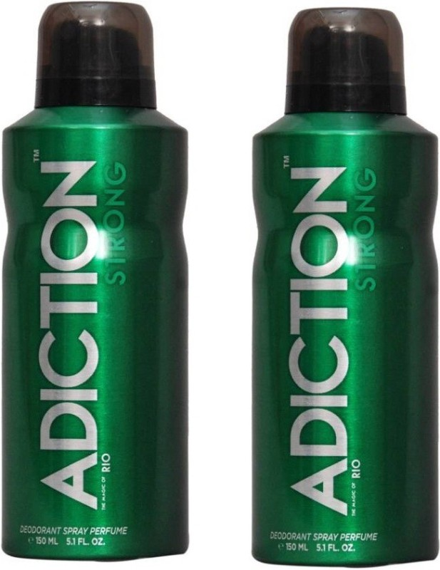 Adiction RIO BODY SPRAY Deodorant Spray - For Men & Women(200 ml, Pack of 2)