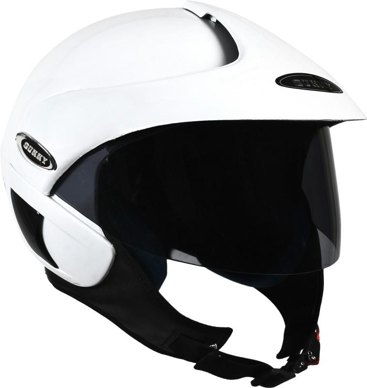 stranger sunny delta Motorbike Helmet(White)